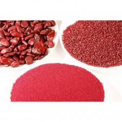 Aranžovací písek jemný bordó 0,5 mm/350 ml