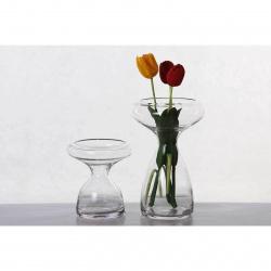 Váza Catherine MV1036 čiré sklo v.19x14cm