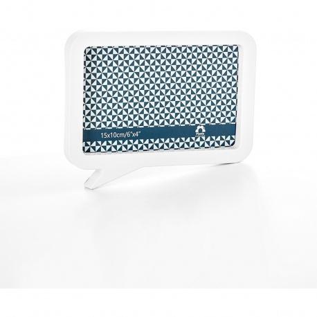 Fotorámeček plastový bílý 10X15cm magnetický