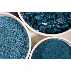 Aranžovací kameny modré 7-15mm/350 ml