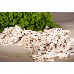 Aranžovací kousky dřeva 140 bílé 10-20mm (balení 333ml)