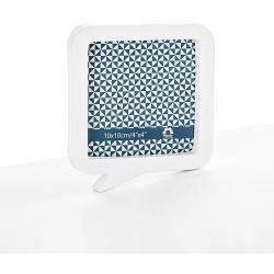 Fotorámeček plastový bílý 10x10cm magnetický
