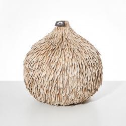 Váza CAMEL koule Vodní tráva Přírodní Nature