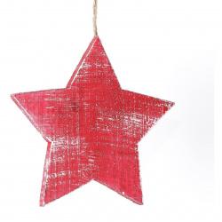 Dekorace hvězda velká Red Montana 6