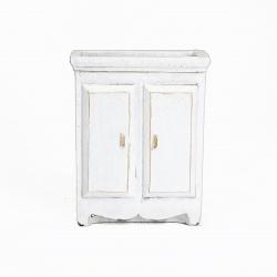 Betonový obal Planta CD4660B-4699 Bílý 16 x 9 x 20 cm