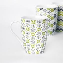 Hrnek Green Tea - Wallpaper keramický
