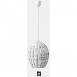 Stínítko k osvětlení egg bílý šířka 28cm výška 36cm