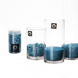 Barevný písek 0.5 mm petrolejový (350 ml)