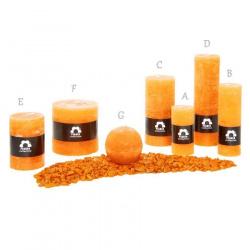Svíčka Rustik Planta RC715 027 Pomeranč (6) 70x150 mm (D)