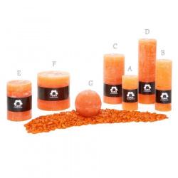 Svíčka Rustik Planta RC715 024 Mandarinka (6) 70x150 mm (D)