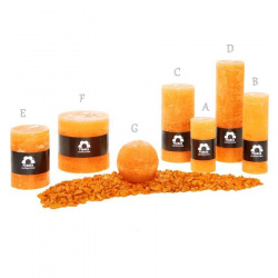 Svíčka Rustik Planta RC510 027 Pomeranč (12) 50x100 mm (A)