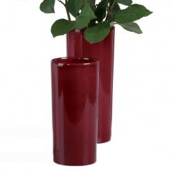 Váza 501 Dark Red 25