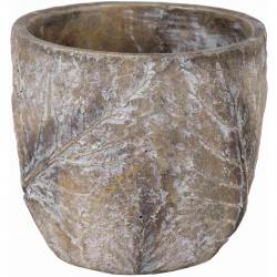 Obal Tiza Leaf Egg Pot Natural 17