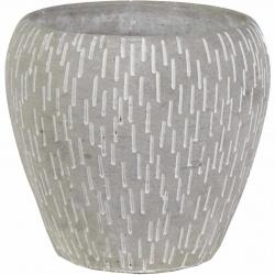 Obal Deline Cone Pot Grey 13