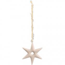 16_Hvězda keramika šedá závěs 21304200 10x9x1cm