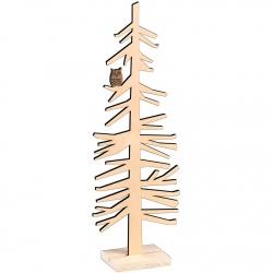 29_Strom se sovou dřevo 21304094 18x51x8cm