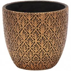 Obal Adana Hazel Egg Pot Bronze 14