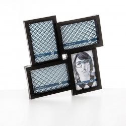 Fotorámeček plastový černý 4x10x15cm závěsný