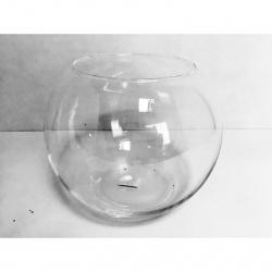 Váza skleněná bubble pr. 35cm